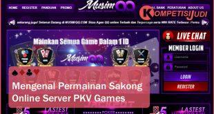 Mengenal Permainan Sakong Online Server Pkv Games Terpercaya