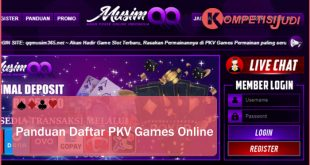 Panduan Daftar PKV Games Online